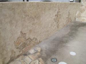 隣地境界のブロック塀も、モルタル造形でリフォームを…