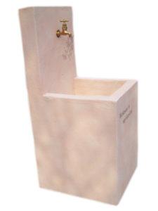 『 サクラ 立水栓 (作品番号 U1906) 』