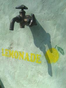 『 レモネード 立水栓 (作品番号 U1907) 』
